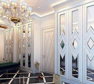 Двери с делителем наклейкой Электросталь