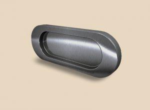 Ручка серебро глянец овальная Италия Электросталь