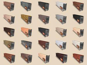 """Алюминиевый ламинированный профиль """"HOLZ"""" для шкафов купе и межкомнатных перегородок Более 100 цветов Электросталь"""