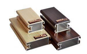 """Ламинированный профиль """"HOLZ"""" для шкафа купе и межкомнатной перегородки Электросталь"""