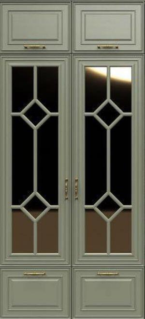 Фасад с фигурной филенкой эмаль Электросталь