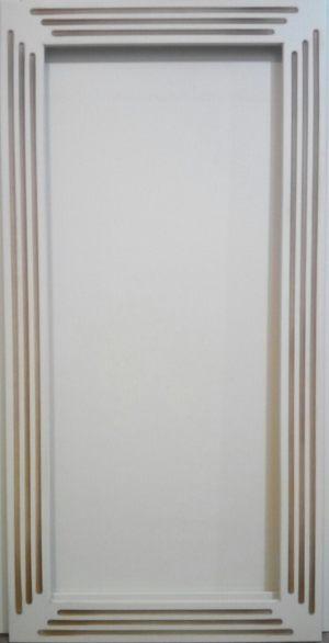 Рамочный фасад с фрезеровкой 2 категории сложности Электросталь