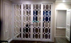 Двери с фигурной филенкой, эмаль Электросталь